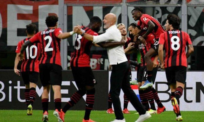Esultanza Milan