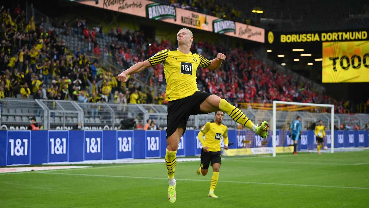 Haaland salta Borussia Dortmund