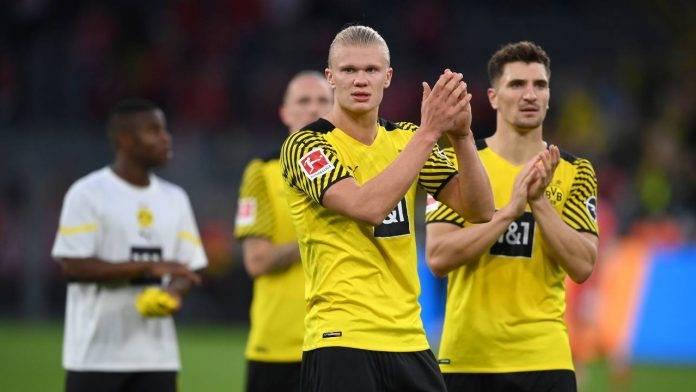 Haaland applaude Borussia