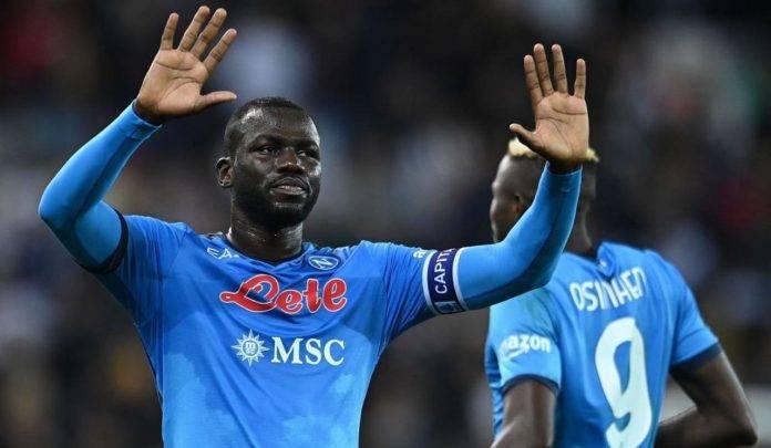 Koulibaly in Udinese-Napoli