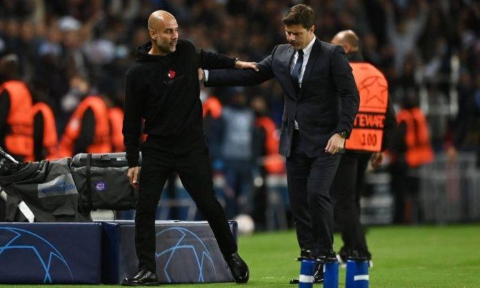 Pochettino saluta Guardiola