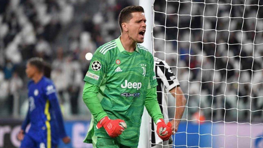 Szczesny urla Juventus