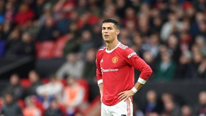 Cristiano Ronaldo con la maglia del Manchester United