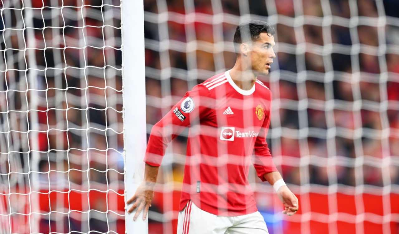 Ronaldo in United-Everton