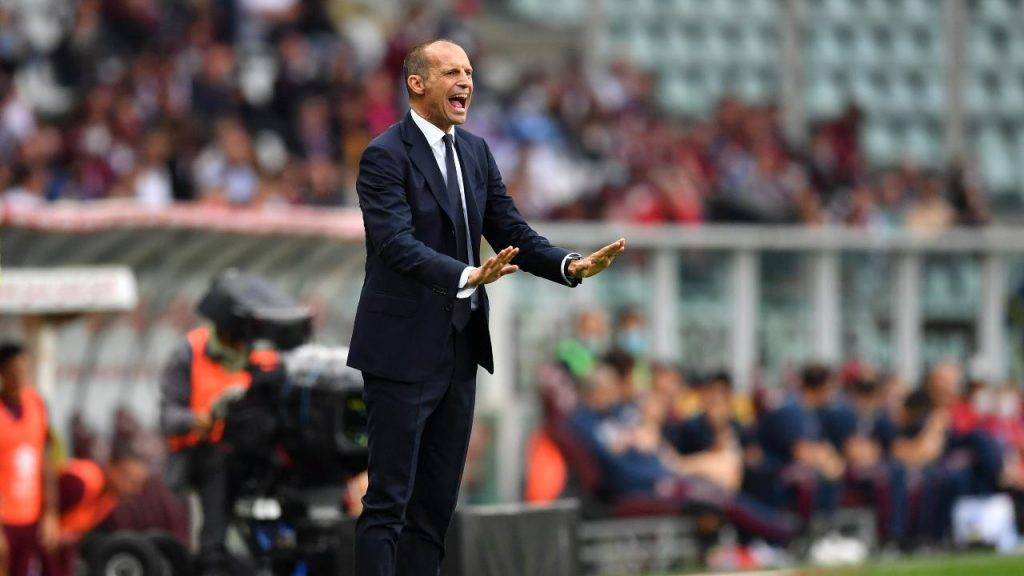 Juventus Allegri urla