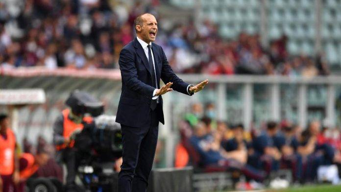 Allegri Juventus urla