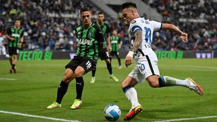Sassuolo-Inter in campo