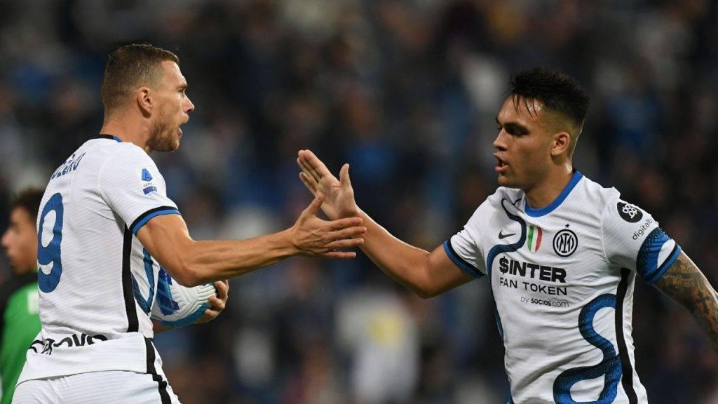 Dzeko Inter Juve