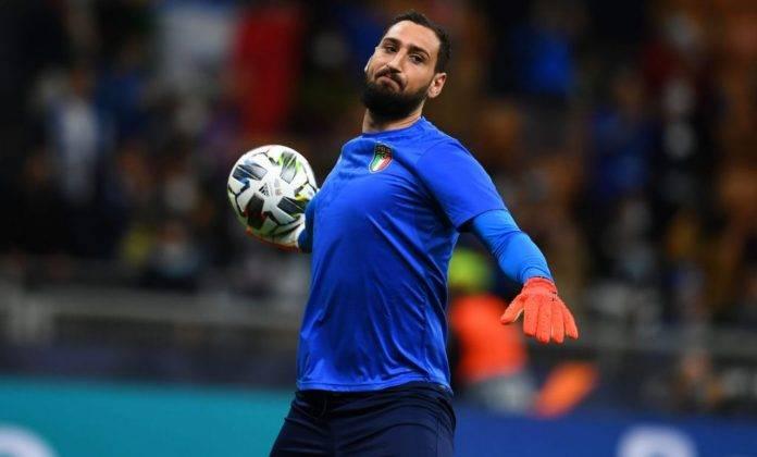 donnarumma con la maglia dell'Italia