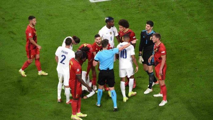 Belgio-Francia in campo