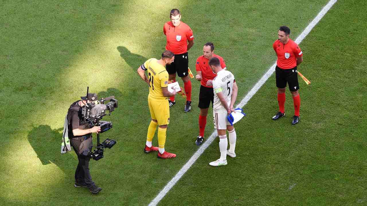 Italia-Belgio all'Allianz Stadium