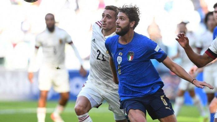 Italia-Belgio in campo