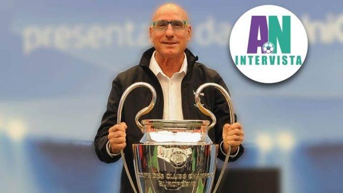 Graziani che alza la Champions