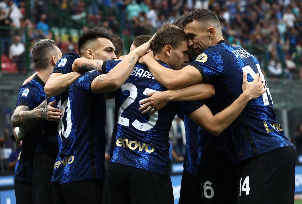 L'Inter festeggia