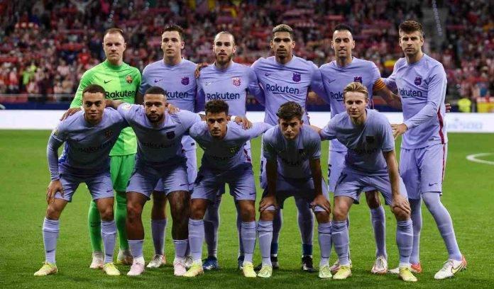 Barcellona foto di gruppo