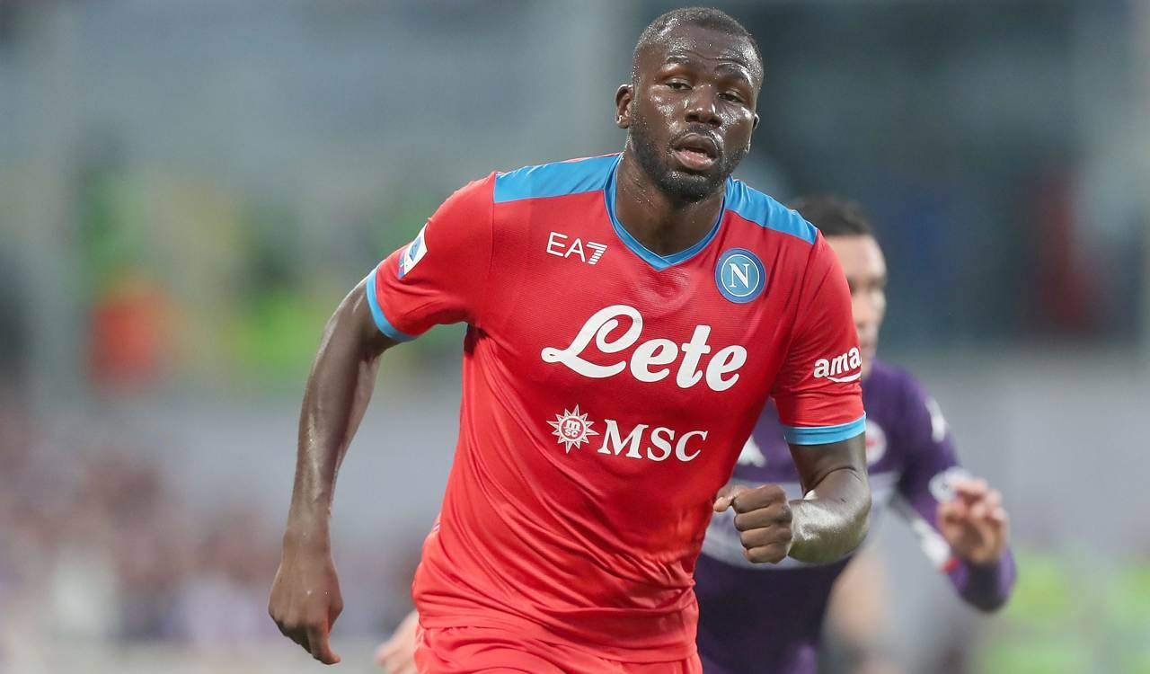 Koulibaly in campo a Firenze