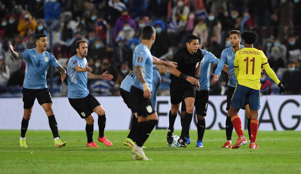 Tensione in Uruguay-Colombia
