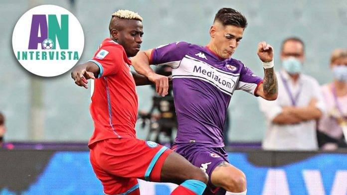 Osimhen e Martinez Quarta in Fiorentina-Napoli