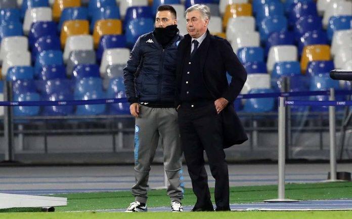 Davide e Carlo Ancelotti ai tempi di Napoli