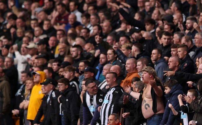 Tifosi del Newcastle