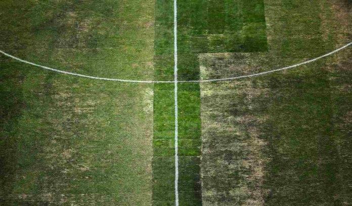 Campo di calcio disastrato